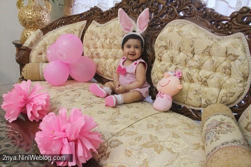 جشن دندونی حلماگلی با تم خرگوشی