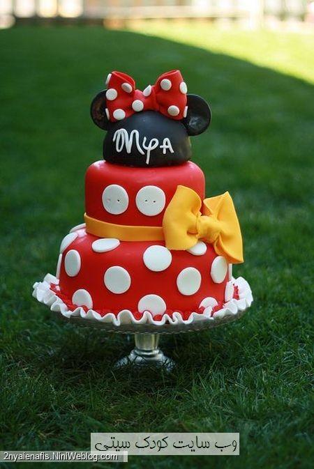 مدل های کیک تولد تم مینی موس و میکی موس