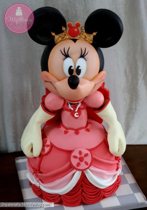 مدل های کیک تولد تم مینی موس و میکی موس دکوراتیو