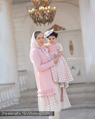 جدیدترین مدل های زیبای و شیک مانتو ست مادر و دختر