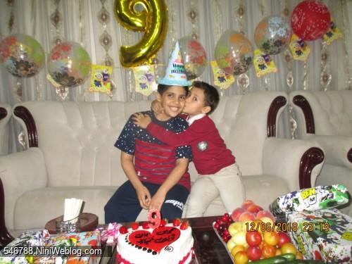 تولد 9سالگی خرداد97