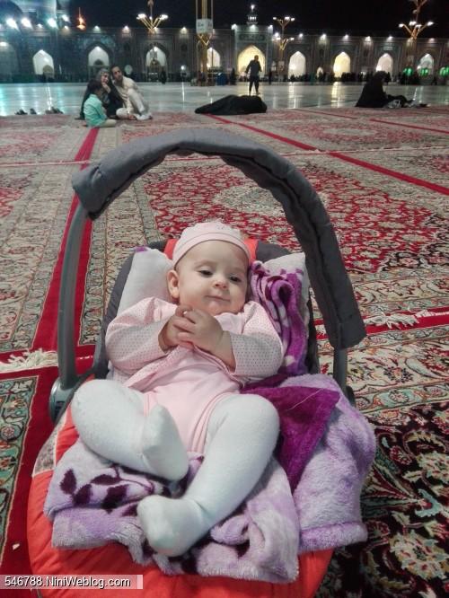 چهارماهگی حلما -مشهد مقدس