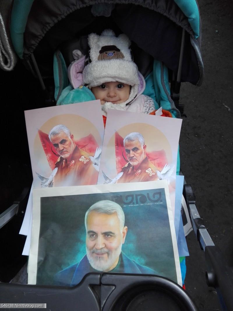 حلما در مراسم تشییع میلیونی پیکرهای مطهر شهدای مقاومت