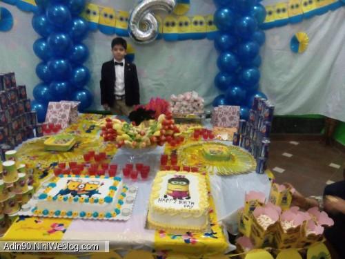 چند روز دی تولد جیگر پروفای نی نی وبلاگ | آیدین عزیزم