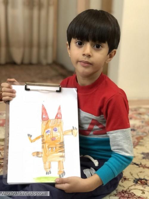 نقاش کوچولوی من...