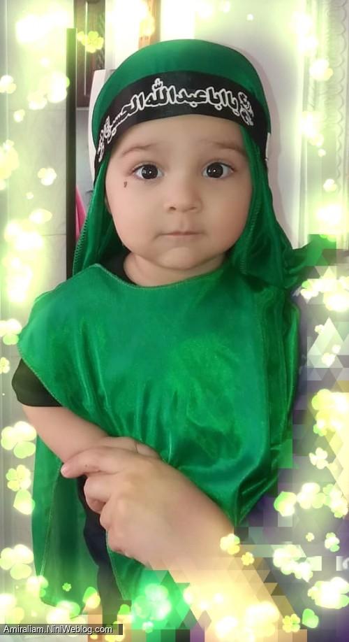 در لباس علی اصغر(ع)