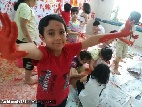 جشنواره رنگ بازی