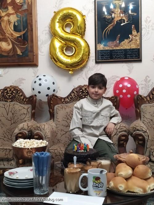 تولد امیرحسین 4 بهمن 98