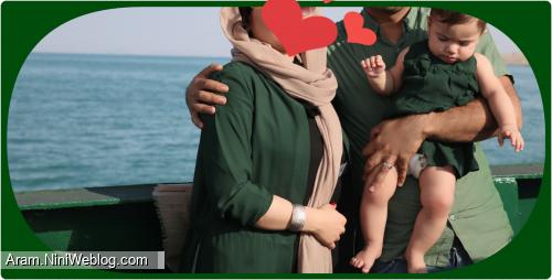 سفر دریایی قشنگ مامانی.