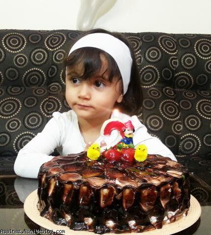 تولد دو سالگی عسل ناز