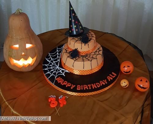 جشن تولد بابایی و جشن هالووین