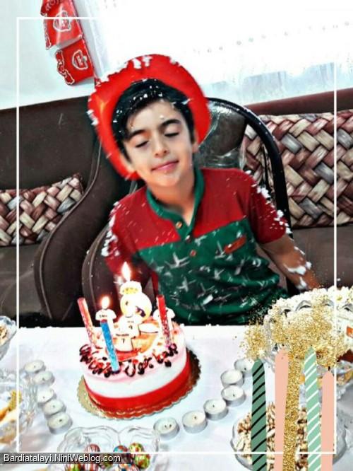 تولد 9 سالگی بردیای من