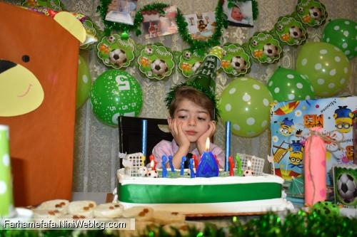 تولد پنج سالگی