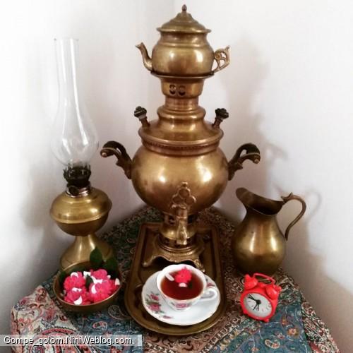 چای با بهار نارنج شیراز