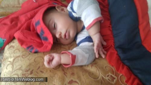 واکسن 4 ماهگی محمدفرزاد
