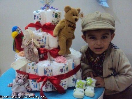 جشن بای بای پوشک محمد حسام عزیز