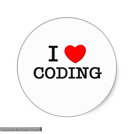 من عاشق برنامه نویسی ام