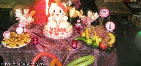 کیک تولد کیتیHELLO KITTY