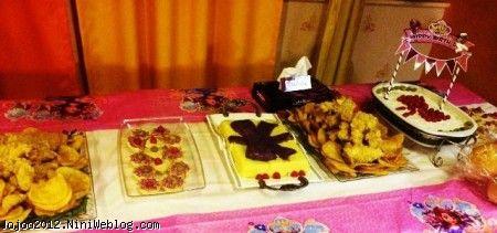 تم تولد پرنسس صوفیا در جشن تولد ویانا PRINCCES SOFIA میز شام تولد