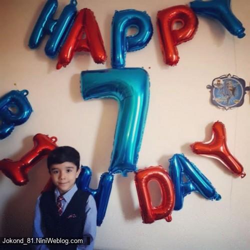 تولد ۷ سالگی سام