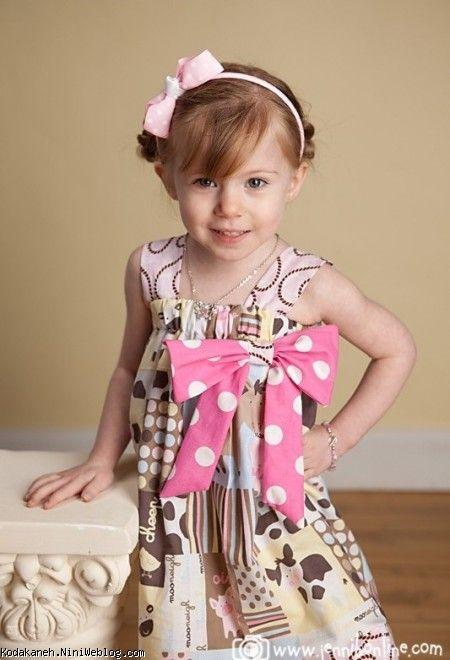 لباس ارتشی بچه گونه عکس دختر بچه خوشگل و ناز با مدل های لباس زیبا.