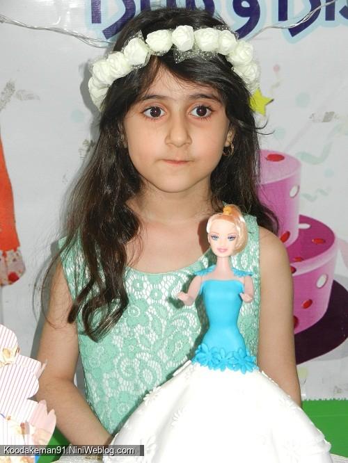 تولد 6 سالگی ساجده خانم