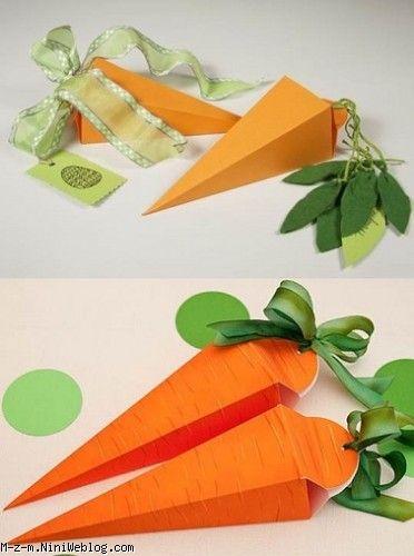 جعبه به شکل هویج