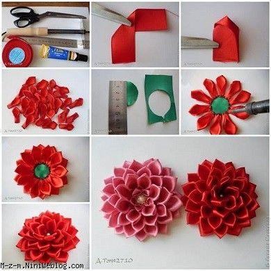 گل سازی با ساتن