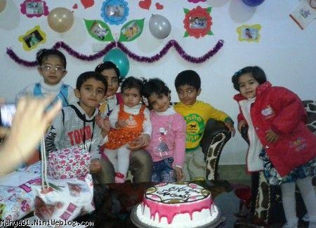 جشن تولد یکسالگی محیا