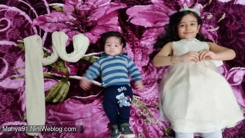 سه ماهگی محمدحسام.