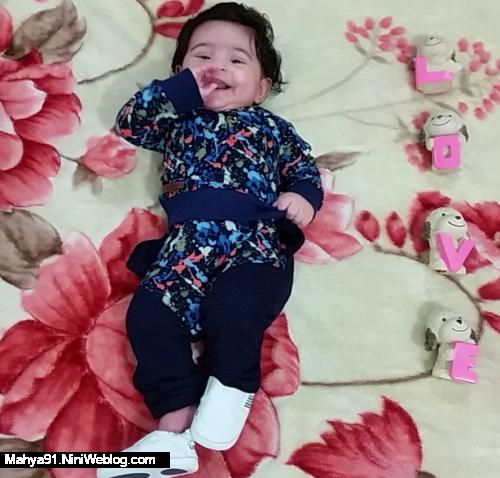 چهار ماهگی محمد حسام.