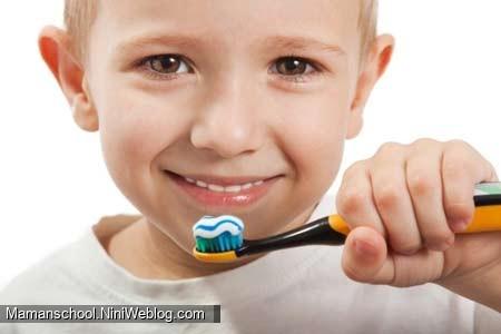 ایده ای برای تشویق بچه ها به مسواک زدن