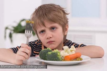 سوال: بچه ی من اصلا خوب غذا نمیخوره چیکار کنم؟!