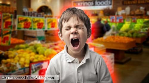 سوال: بچه ی من موقع خرید هرچی ببینه میخواد و گریه میکنه چیکار کنم؟