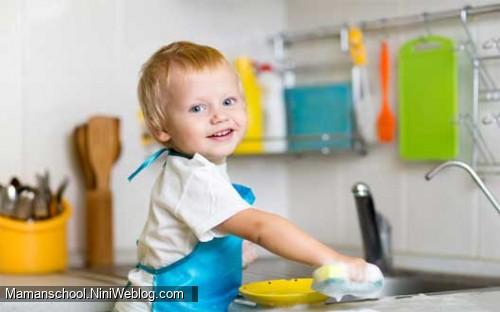 مسئولیت پذیر کردن بچه ها؛ قسمت دوم؛ کودک و وظایف خانه