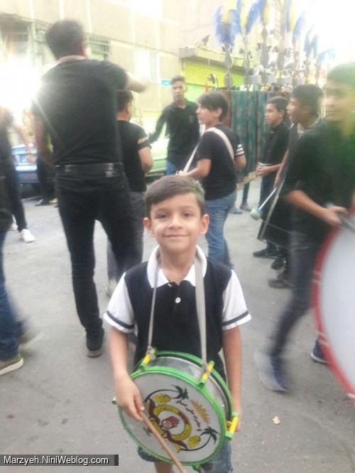 گل پسرم امام حسین نگهدارت باشه محرم 97