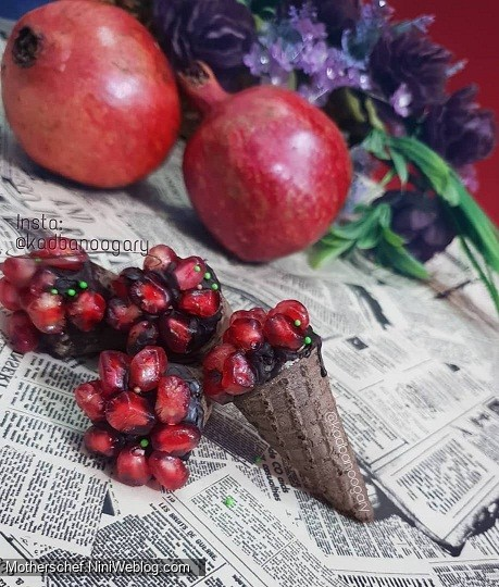 شکلات قیفی اناری-ویژه یلدا