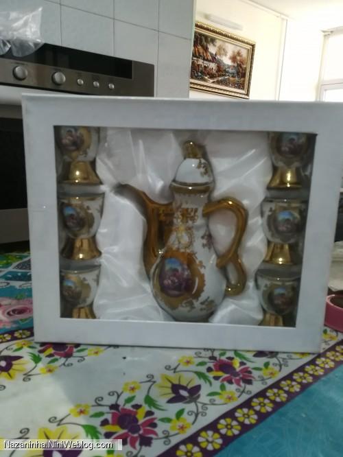 هدیه روز دختر مامان جون برای میترا طلا