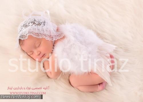 آتلیه تخصصی عکاسی کودک، نوزاد و بارداری تیناز همراه با عکاسی خانوادگی