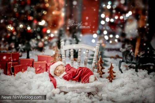 آتلیه کودک سروش فرمانیه – تم کریسمس