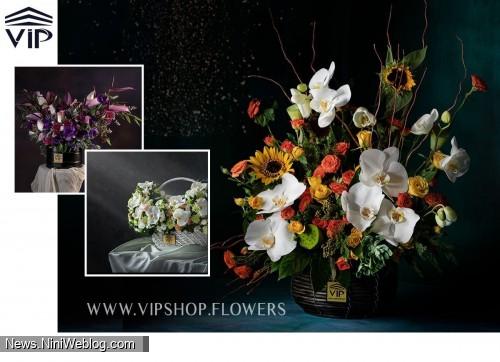 گلفروشی آنلاین VIP Shop