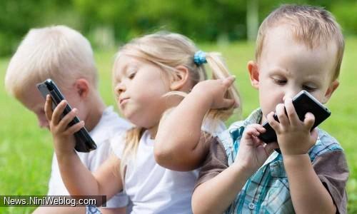 آسیب های تلفن همراه برای کودکان