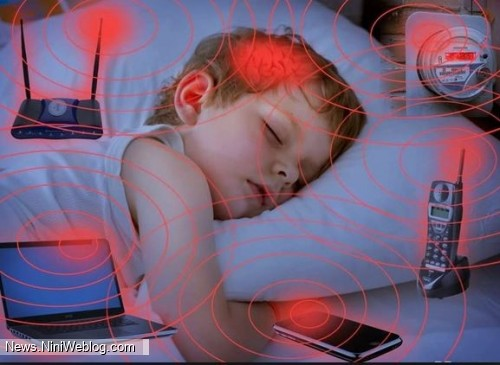 تاثیر امواج موبایل بر روی کودکان