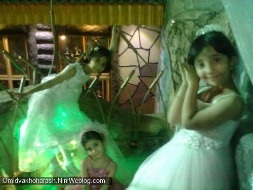 عکسهای آیدا در عروسی دیشب