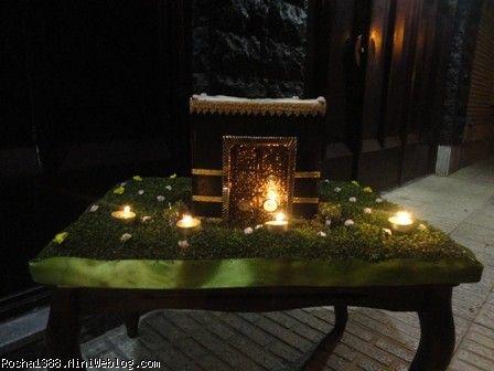 تزیین شمع با نگین اتریشی برای دخترم روشا