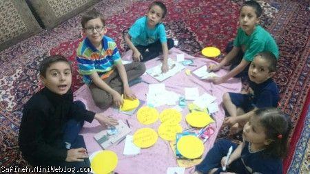 مهمون کوچولوی خدا ۵۷ (مراسم قاصدک دعا ویژه شب قدر مخصوص بچه های 8 و 9 ساله)