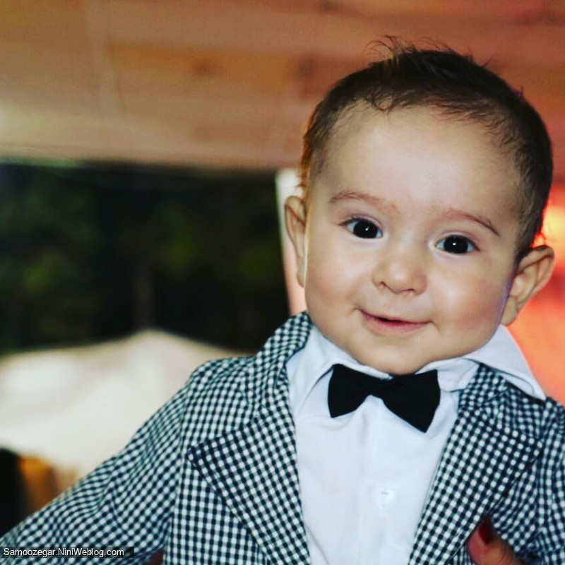 هومن وقتی 5 ماهه بود