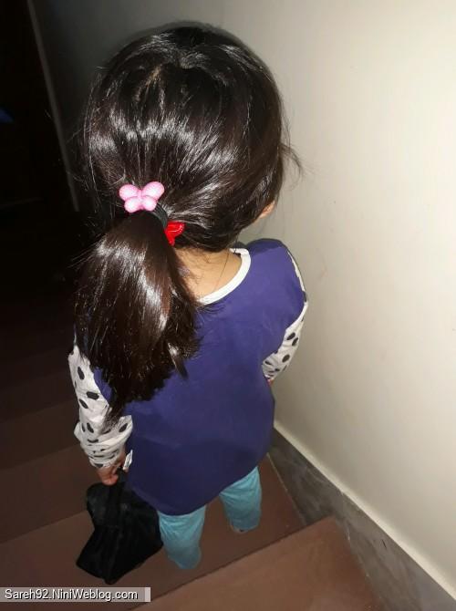 کوتاهی موهای ساره خانومی من