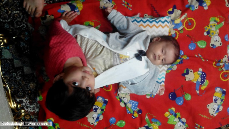 النا خواهر سارینا و معراج پسر دایی سارینا