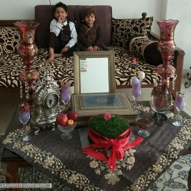 عید نوروز ۹۶روزهای آخری که محمدعلی تو دل مامانه